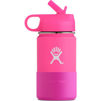 Image For Hydro Flask 12 oz Kids Wide Mouth Bottle (Pink)