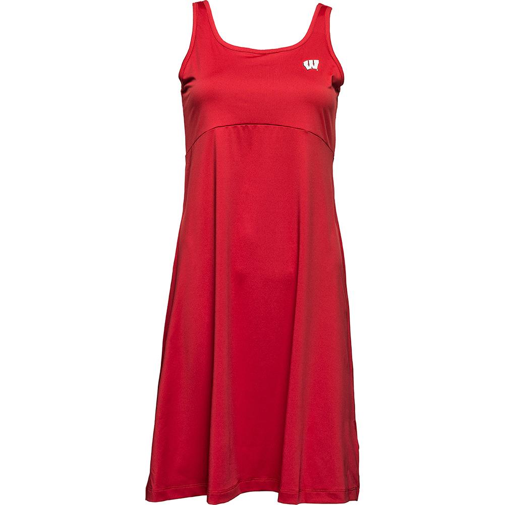 d2384b7b829 Columbia PFG Wisconsin Tank Top Dress (Red)