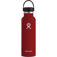 Image For Hydro Flask 21 oz Standard Mouth Bottle (Lychee Red)