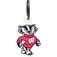 Image For Authentic Street Signs Bucky Badger Key Chain
