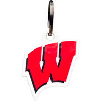 Image For Authentic Street Signs Wisconsin Motion W Key Chain