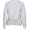 Cover Image for League Women's Wisconsin Back Knot Crew (Ash Gray)*