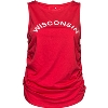Cover Image for League Women's Wisconsin Unwind Tank Top (Red)*