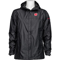 Image For Columbia Wisconsin Rain Jacket (Black)