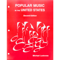 Cover Image For Popular Music in the United States Second Edition