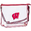 Image for Capri Designs Wisconsin Clear Shoulder Bag (Red)