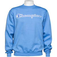 Cover Image For Champion Eco Powerblend Crew Neck Sweatshirt (Light Blue)