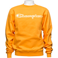 Image For Champion Eco Powerblend Crew Neck Sweatshirt (Gold)*
