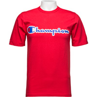 Image For Champion Heritage T-Shirt (Red) *