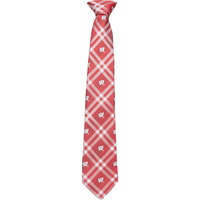 Image For Eagle Wings Motion W Plaid Tie (Red/White)