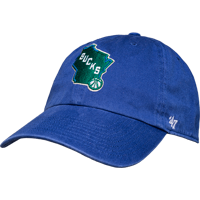 Image For '47 Brand Milwaukee Bucks Hat (Royal Blue) *