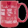 Cover Image for Neil Enterprises, Inc. Wisconsin Badgers UW Mom Mug (Red)