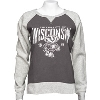 Cover Image for Champion Embroidered Wisconsin Crew Neck Sweatshirt (Gray)