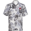 Image for Tommy Bahama Wisconsin Super Fan Silk Shirt (White/Black)