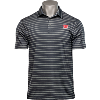 Image for Under Armour Motion W Playoff Tour Stripe Polo (Black)