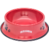 Image for Neil Enterprises, Inc. Wisconsin Metal Pet Bowl (Red)
