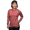 Cutter & Buck Women's Wisconsin Alumni Half-Zip (Red) * Image