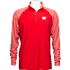 Image for Cutter & Buck Response Hybrid Overknit Half Zip (Red)