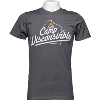 Image for Drink Wisconsinbly Camp T-Shirt (Charcoal Gray)