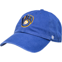 Image For '47 Brand Milwaukee Brewers Adjustable Glove Hat (Blue)