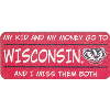 Image for Neil Enterprises, Inc. Wisconsin Kid Magnet