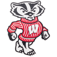 Cover Image For CDI Corp Automotive Bucky Badger Decal