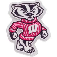 Image For CDI Corp Bucky Badger Magnet Large