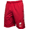 Image for Under Armour Wisconsin On Field Shorts (Red)