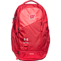 Image For Under Armour Hustle 4.0 Backpack (Red)
