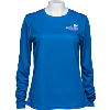 Image for Cutter & Buck Women's AmFam Insurance Long Sleeve (Blue) *