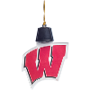 Image for Evergreen Enterprises Wisconsin Badgers Acrylic LED Ornament