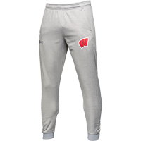 Image For Under Armour Wisconsin Fleece Jogger (Gray)