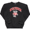 Image for Champion Youth Wisconsin Bucky Badger Crewneck (Black)
