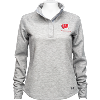 Image for Under Armour Women's Knit Quarter Snap (True Grey Heather)