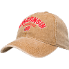 Image for Legacy Dashboard Wisconsin Badgers Adjustable Hat (Camel)