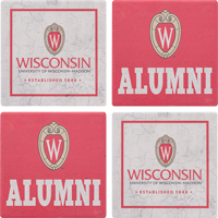 Image For Legacy Alumni 4 Pack Coaster