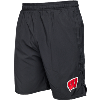 Image for Under Armour Wisconsin Qualifier Woven Short (Black)