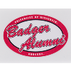 Image for Dizzlers Badger Alumni Sticker Small