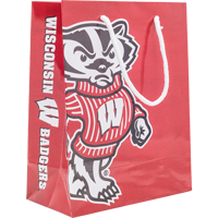 Cover Image For Neil Enterprises Bucky Badger Gift Bag
