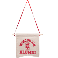 Cover Image For Neil Enterprises, Inc. Wisconsin Alumni Canvas Banner