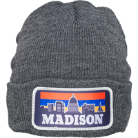 Image For Brew City Madison Knit Hat (Charcoal)
