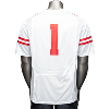 Cover Image for Under Armour Wisconsin Football Jersey #1 (White)