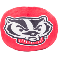 Cover Image For Northwest Bucky Badger Pillow Cloud (Red)