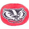 Image for Northwest Bucky Badger Pillow Cloud (Red)