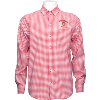 Cover Image for Antigua Wisconsin Plaid Button Down Shirt (Black/White) *