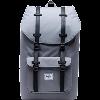 Image for Herschel Little America Backpack (Grey/Black)