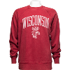 Image for Gear for Sports Arch Wisconsin Bucky Crewneck (Red)