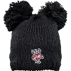 Image for Logofit Bucky Badger Knit Double Pom Hat (Black)