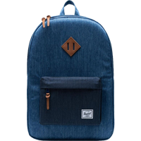 Image For Herschel Heritage Backpack (Faded Denim/Indigo Denim)