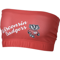 Image For ZooZatz Wisconsin Badgers Bandeau (Red)